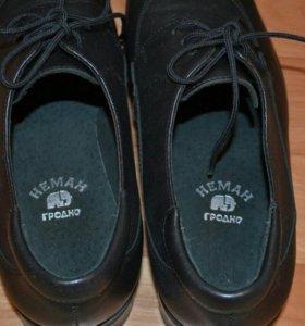 Новые ботинки классические для мальчика