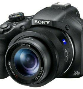 Sony HX400 с суперзумом 50х крат