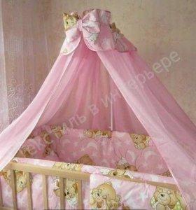 Комплект в кроватку и матрас
