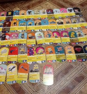Карточки Миньон