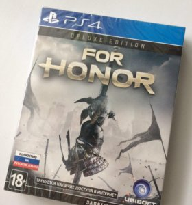 Игра PS4 For Honor Deluxe Edition