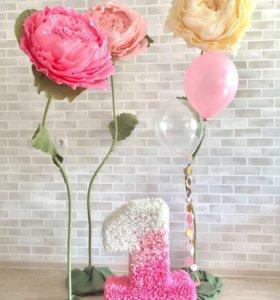 Ростовые цветы/Большие цветы