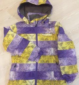 Новая демисезонная ФИНСКАЯ куртка 128 и 140 р