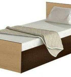 Кровать Стандарт 0,9 Венге/Лоредо