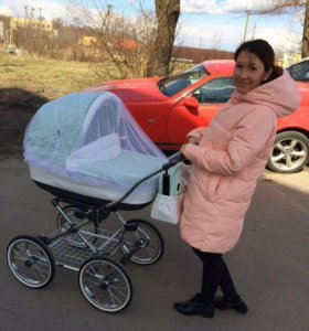 Детская коляска Roan marita Prestige 2 в 1 экокожа