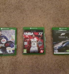 NBA 2K17, NHL 17, Forza 6 для Xbox One