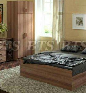 Кровать Стандарт 1,6 Ясень шимо