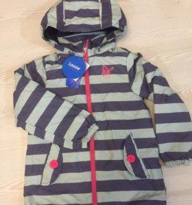 Новая финская демисезонная куртка 122 р и 110 р