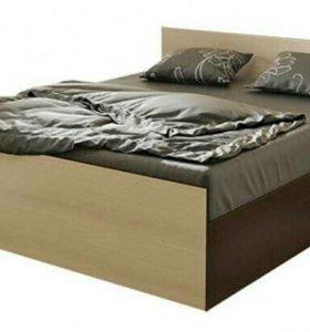 Кровать Стандарт 1,6 Венге/Лоредо