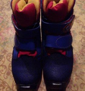 Лыжные ботинки на 29 размер