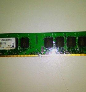 Планка foxline DDR2 2 гб 800 МГц