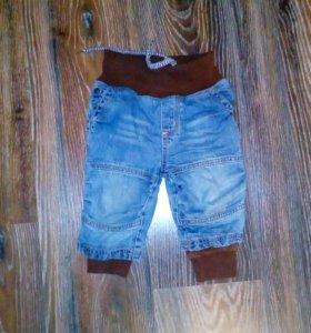 джинсы с подкладкой