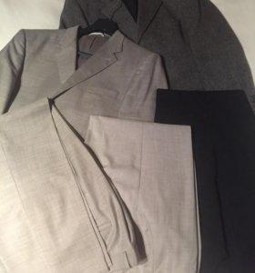 Костюм, пиджак, брюки, рубашки