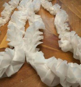 Свадебный ленты украшения на машину