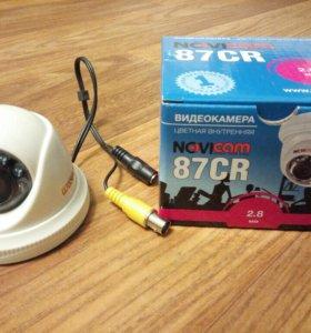 Купольная цветная видеокамера NOVIcam 87CR 2.8 мм