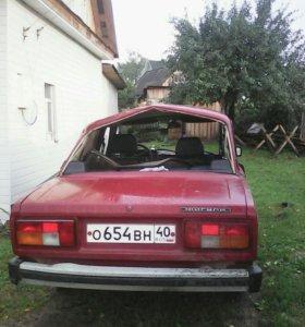ВАЗ2105 после аварии