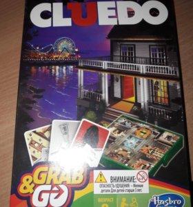 Настольная игра CLUEDO почти новая