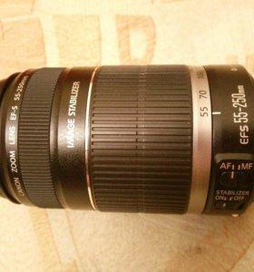 Объектив Canon EF-S 55-250