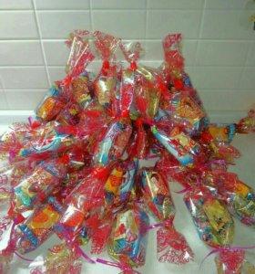 Упаковка конфет для школы, на день рождения