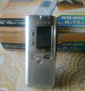 Диктафон SONY ICD-B16