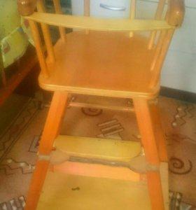 Стул для кормления, стул со столом
