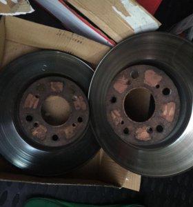 Тормозные диски для Хонда цивик 5д 4д б/у