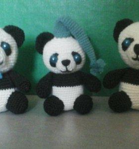Панда, ручная работа.