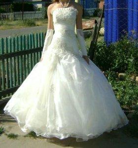 Платье свадебное (выпускное)