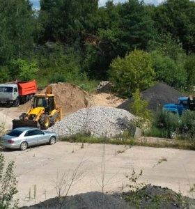 Доставка песка,щебня,земли,навоза,услуги JCB
