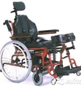 Инвалидная электро кресло-коляску с вертикализатор