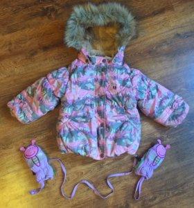 Зимняя куртка Huppa р86
