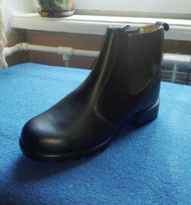 Ботинки женские кожаные новые