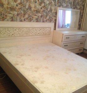 Кровать+комод