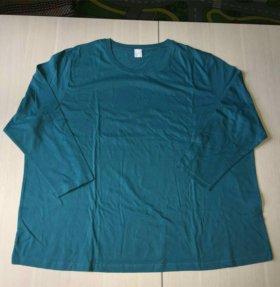 64 р-р Новая блузка женская темно-бирюзовая обмен