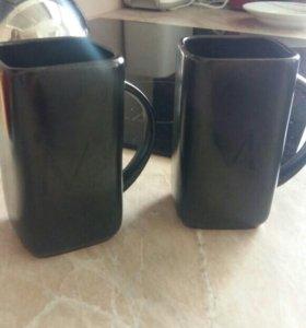 Две новые кружки керамика