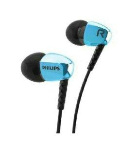 Новые фирменные стильные наушники Philips 3900