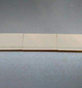 Керамический глянцевый бордюр.