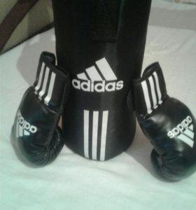 Боксёрская Груша и перчатки новые