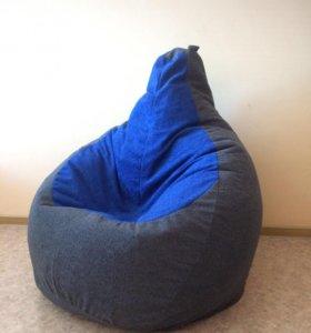 Кресло-мешок из велюра