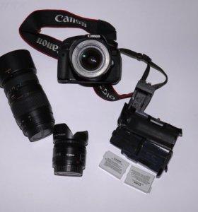 Canon 650 d kit 18-55