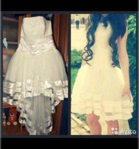 Свадебное платье(выпускное)