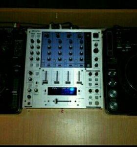 Pioneer cdj 1000 mk3+ Denon 1500