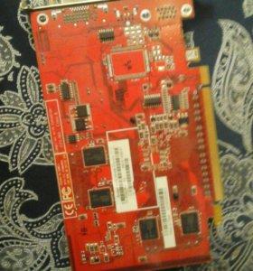 Видеокарта RADEON X550 256 MB(возможен торг)