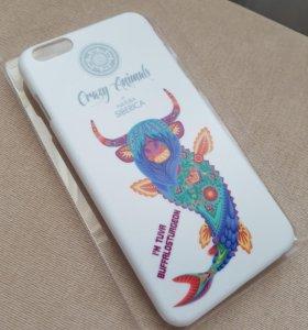 "Чехол для iPhone 6 Plus ""Crazy Animals"""