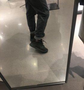 Кроссовки Zara, обувь мужская, модные