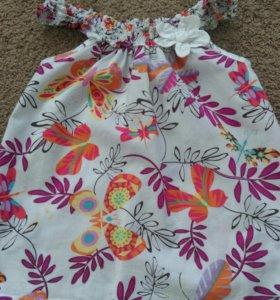 Туника, платье для девочки 89-110