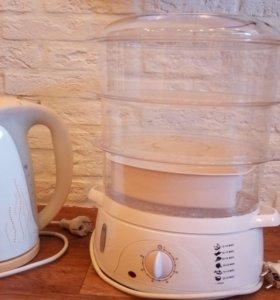 Пароварка и чайник