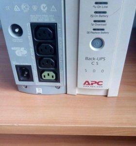 Ибп APC Back-Up CS 500VA