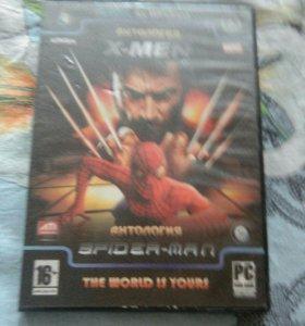 Игры Spider man и X-men