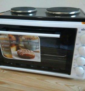 Абсолютно новая мини печь электрическая Simfer